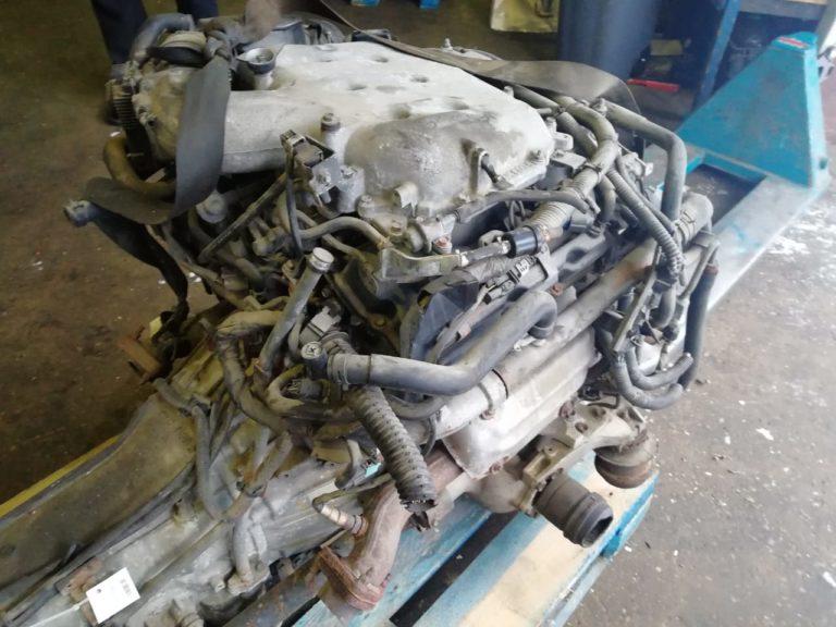 Контрактный двигатель Infinity 3.5И (Инфинити)  2007г. VQ35DE 280л.с.